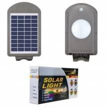 Lampione LED solare da esterno con sensore di attivazione con montaggio per palo o muro