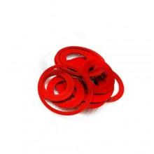 Set 55 pezzi guarnizioni in gomma guarnizione in fibra anelli O-ring sanitario