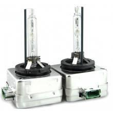 Coppia lampade di ricambio lampadine fari xenon D3S 6000K xeno kit faro 6000 K