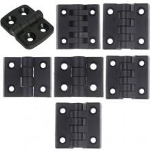 2x Cerniera in plastica ABS nero porte mobili anti ruggine cuscinetto cerniere