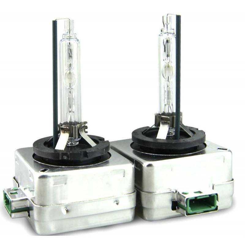 Coppia lampade di ricambio lampadine fari xenon D3S 5000K xeno kit faro 5000 K
