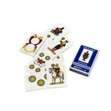 3x Carte napoletane regionali plastificate carte classiche giochi tavolo Antini