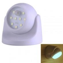 Luce LED con sensore di movimento SMD 9x9 Cm 3W parete illuminazione wireless