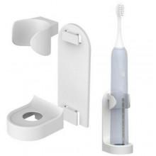 Portaspazzolino spazzolini elettrico 97x33x47 Cm biadesivo da parete muro Oral B