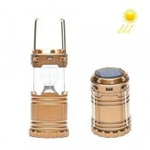 Lanterna Solare 6 LED Portatile da Campeggio Pesca o Porticato