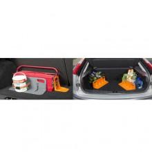 Ferma blocca pacchi bagagli Bagagliaio Auto Stop con velcro porta oggetti SLIM
