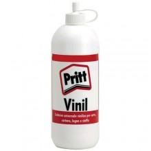 2x Colla vinil Pritt 250Gr colla vinilica bianca per carta legno flacone scuola