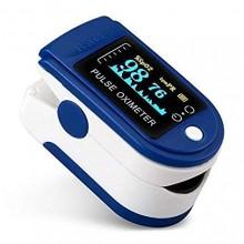 Misuratore di ossigeno portatile da dito pulsossimetro ossimetro saturimetro LYG-88 display Oled