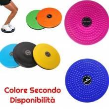 Disco Fitness Fianchi Pancia Addome Massaggio Piedi Ruota Sport