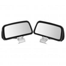 2x Specchietti per angolo morto specchio cieco specchio retrovisore auto visione grandangolo aggiuntivo regolabile universale