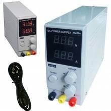 Alimentatore Stabilizzato da banco compatto Slim Trasformatore corrente regolabile fino a 30V e 10A - Versione MINI fino a 10A