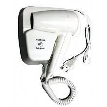 Phone Phon asciugacapelli verticale da parete 1300 watt versione hotel due velocità aria calda - Bianco senza presa