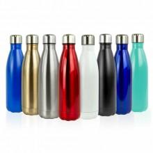 Borraccia oro portatile bottiglia acciaio Inox termica caldo freddo 26 Cm tappo