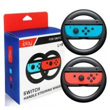 2x Volanti per Nintendo Switch Joy-Con supporto per controller coppia volanti