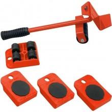 Kit sollevatore mobili sposta mobili facile ruote piastre casa lavoro trasloco set