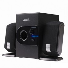 Altoparlanti amplificati CMK-808N Jack 3,5 mm Woofer 7W Satellite 3W pc gaming