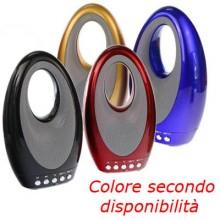 Cassa Bluetooth V4.2 portatile wireless WS-1829 chiamate mp3 audio musica