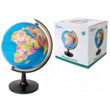 Mappamondo girevole da tavolo 31 Cm didattico supporto globo scuola geografia