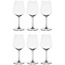 6x Set bicchieri calici vino calice Rastal Carre' 53 cl vetro cristallino flute