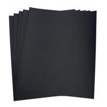 5x Fogli di carta vetrata 100gr grana per ferro 21x24 Cm carta abrasiva bricolage