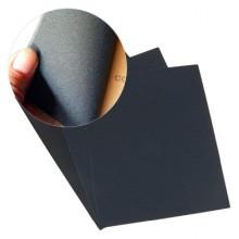 5x Fogli di carta vetrata 280gr grana ad acqua 23x28Cm carta abrasiva bricolage