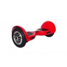 Hoverboard ruote 10 pollici scooter overboard elettrico 350W altoparlanti rosso