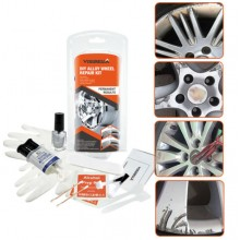 Kit fai da te per riparazione ripara cerchi alluminio in lega rimozione graffi da cerchio in auto camion o moto
