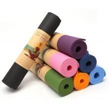 Tappetini in TPE per yoga 61x175 Cm sport esercizi palestra tappetino tappeto
