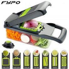Taglia affetta verdure frutta vegano multifunzione affettatrice sbuccia cucina