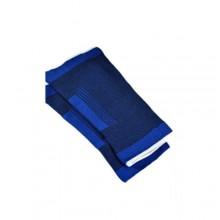 2x Fascia elastica per ginocchio ginocchiera tutore sport menisco blu infortuni