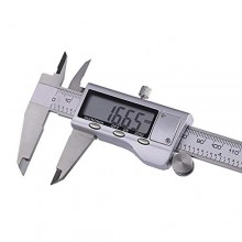 Calibro digitale a corsoio in acciaio con display LCD da 0 a 150 mm misurazione