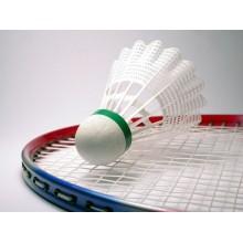 3x Palla badminton volano volani sport nylon supporto in EVA per aperto e chiuso