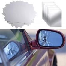 12x Vetri di ricambio specchietti retrovisori ritagliabile universale auto PVC