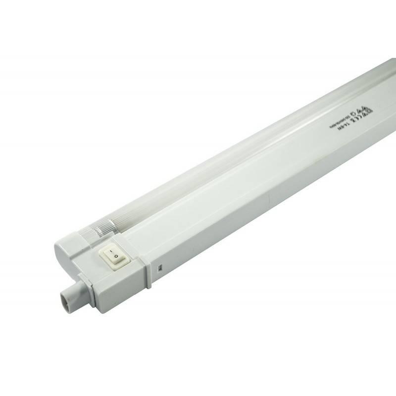 Lampada sottopensile striscia illuminazione con staffe di montaggio... Luce  Luce fredda alogena 12w