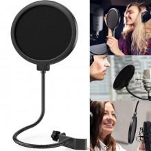 Filtro per microfono registrazione protezione microfoni antivento antipop pop