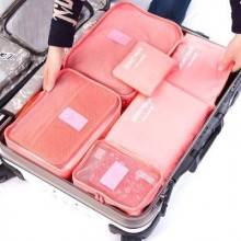 Organizzatore Organizer valigia bagagli borsa sacchetti trolley set da 6 pezzi