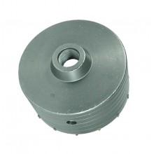 Fresa carotatrice a tazza con inserti per cemento calcestruzzo diametro 80mm 10t