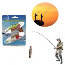 2x Esche artificiali da pesca spinning esca artificiale trota spigola mare sport