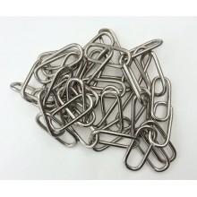 Catena in ferro 3mm x 3M forma dritta catena decorativa accorciabile bricolage
