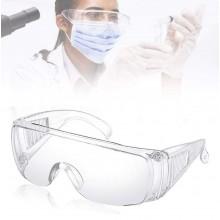 Occhiali di protezione sicurezza antigraffio da lavoro trasparenti unisex