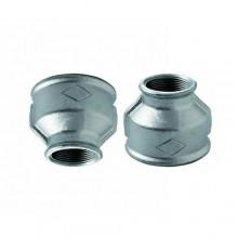 """2x Raccordi manicotto 3/4""""x1"""" raccordo acqua acciaio idraulica impianti tubazione"""