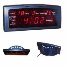 Radio sveglia digitale calendario gradi ZXTL-13 Led temperatura visione notturna
