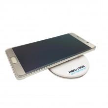 Caricatore Wireless carica batteria smartphone Enrico Coveri 5V bianco induzione