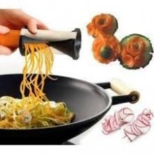 Affetta verdure cucina spirale taglia affettatrice slicer carote patate julienne