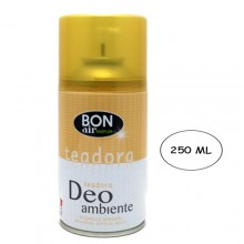 3x Deodorante ambiente 250ml ricarica erogatore automatico aroma Teadora