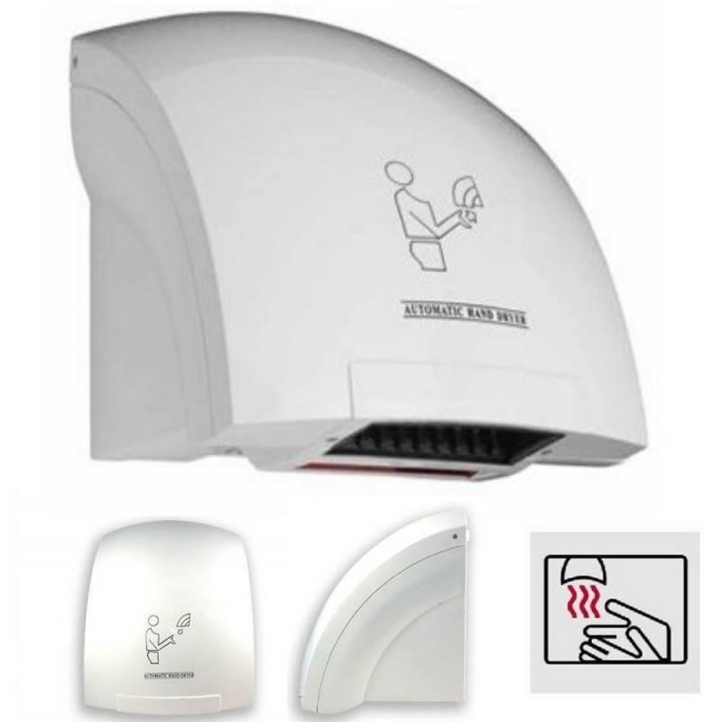 Asciugamano elettrico automatico con fotocellula aria calda da hotel parete muro