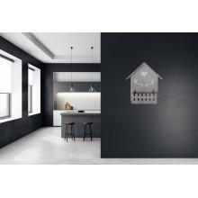 Oggetto decorativo per parete fissaggio a muro forma di casetta 34x24x9 Cm casa
