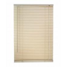 Tenda Veneziana Beige 160 x 60 cm in PVC porta finestra portafinestra inclinabil