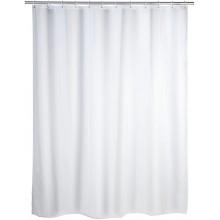 Tenda Doccia Anti Muffa Impermeabile Con 12 Anelli Bagno Bianca 120 x 200cm