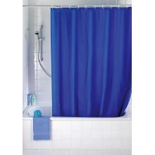 Tenda Doccia Anti Muffa Impermeabile Con 12 Anelli Bagno Blu 180 x 200cm